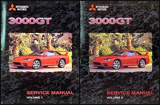 automotive repair manual 1999 mitsubishi gto electronic throttle control 1999 mitsubishi 3000gt original repair shop manual set