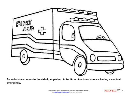 fire engine free coloring pages