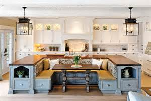 Kitchen Island With Built In Seating 21 Genius Kitchen Designs You Ll Want To Re Create In Your Home