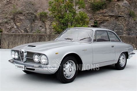 Alfa Romeo 2600 Sprint sold alfa romeo 2600 sprint coupe auctions lot 13