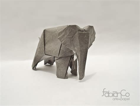 origami 3d elefante tutorial 31 origami elephants to fold for the elephantorigamichallenge