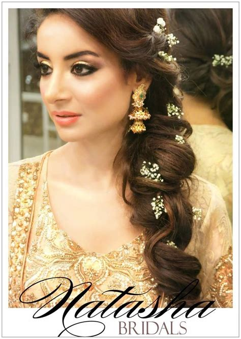 indian hairstyles for engagement function 25 easy and gorgeous hairstyles for walima function
