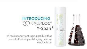 y span supplement nuskin ageloc y span newest product lto 2015