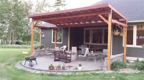 building covered patio how to build a diy covered patio