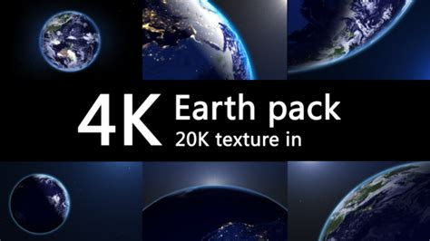 4k Earth Pack Space After Effects Templates F5 Design Com Space After Effects Template