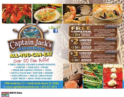 Captain Jack S Seafood Buffet Myrtle Beach Resorts Seafood Buffet Myrtle South Carolina