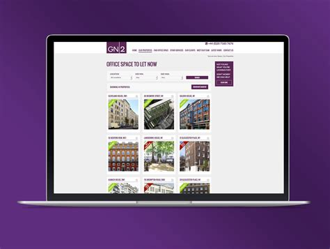 commerical property website oracle creative