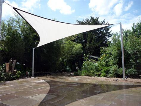 patio shade sail chislehurst installation shaded nation