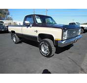 Sell Used 1986 Chevy K20 Camper Special CLEAN TRUCK In