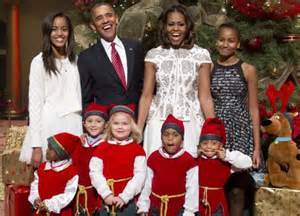 obama first family obama s daughters shine bright as first family attends