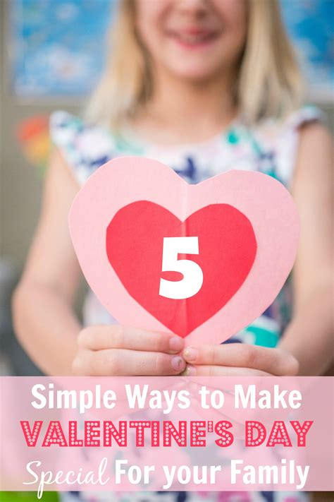 make valentines day special 5 simple ways to make s day special for your
