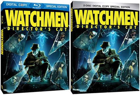 Watchmen The Ultimate Cut Dvd update watchmen director s cut due on july 21 with ultimate 300 comingsoon net