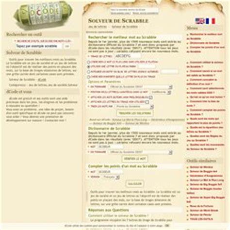 solveur scrabble dictionnaire scrabble et mots crois 233 s pearltrees