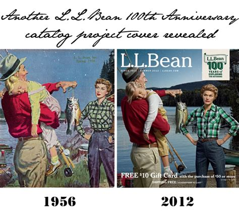 Ll Bean Covers by 100th Anniversary Catalog Cover From L L Bean Ads