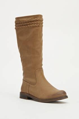 khaki classic knee high boots just 163 5