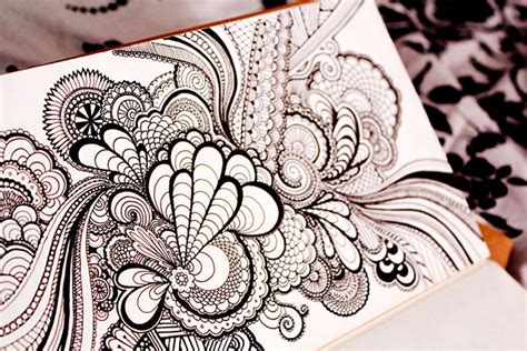 zentangle sketchbook project sketchbooks on behance
