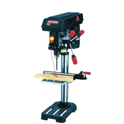best bench top drill press craftsman bench top drill press with laser 10 inch