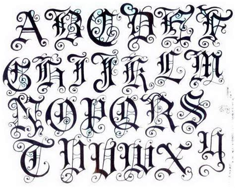 tattoo lettering designer old english pin fancy fonts calligr 5571721 171 top
