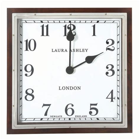Square Living Room Clocks Square Wooden Wall Clock From Ashely Wall Clocks
