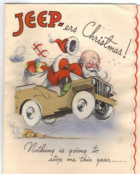 christmas jeep card holiday ewillys