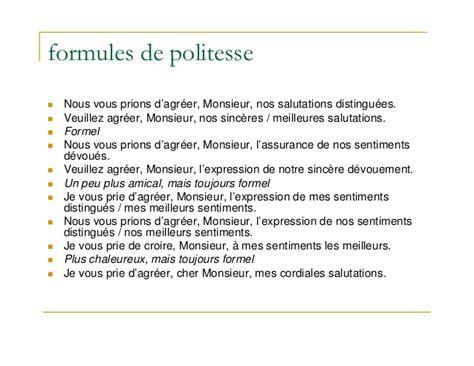 Exemple De Lettre Salutations La Lettre Commerciale