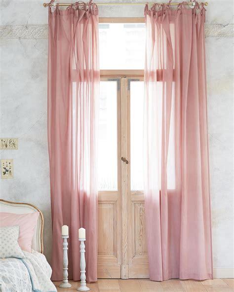 vorhänge quelle gardinen altrosa transparente vorh 195 nge finden sie hier