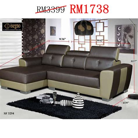 leather sofa malaysia promotion sofas lshape and 321 sets ideal home furniture