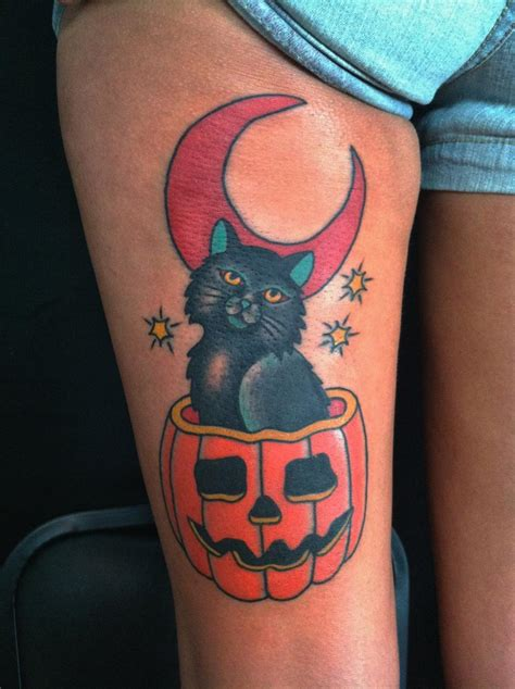 black cat tattoo aftercare halloween tattoos traditional tattoos minneapolis mn