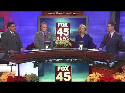 wrgt fox 45 news at 10pm close 12 07 17 youtube
