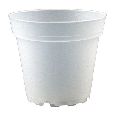 Clear Plastic Planters frosted clear plastic planter 4 quot