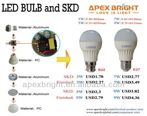led light bulb parts smd 2835 led light bulb components buy led light bulb