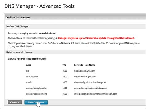 Office 365 Junk Email Validation Error Create Dns Records At Network Solutions For Office 365