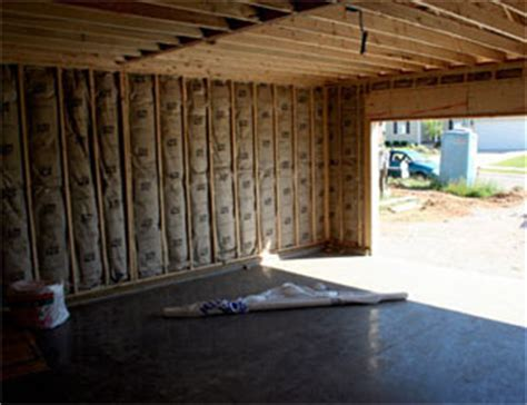How To Insulate An Attached Garage by Insulated Garage