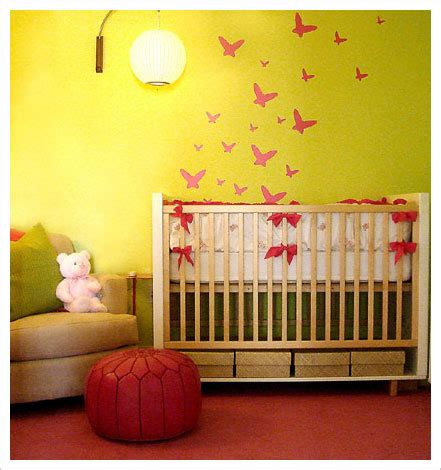 yellow baby bedroom baby s room decoration