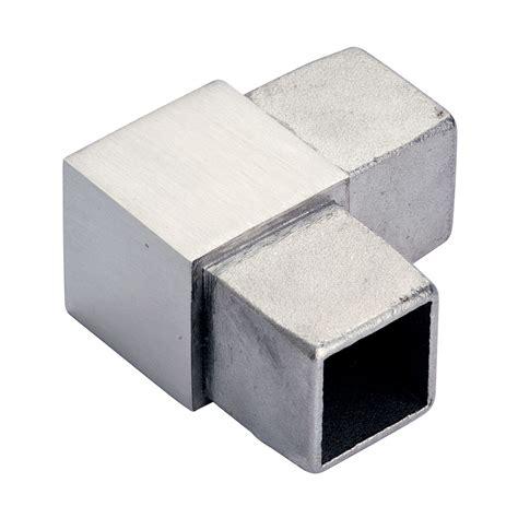 lade tubolari eckbogen 90 176 f 252 r vierkantrohr 40 x 40 x 2 0 mm edelstahl