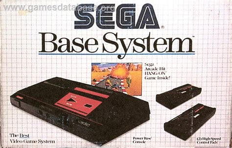 sega genesis master system about sega master system database