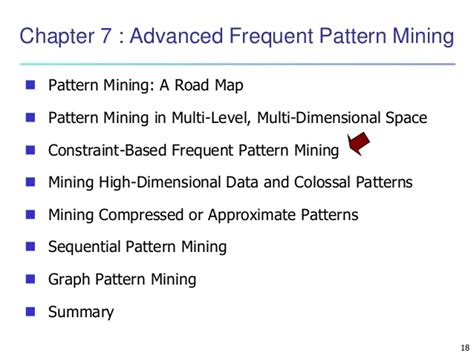 frequent pattern mining meaning data mining concepts and techniques chapter 07 advanced