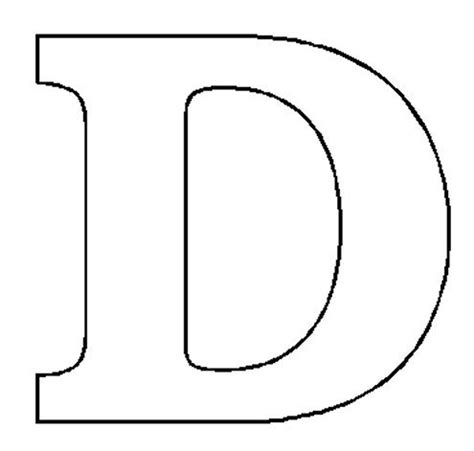 capital letter d coloring page coloring pages
