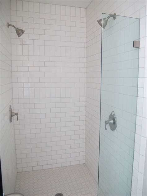 small subway tile white subway tile bathroom small bathrooms with shower