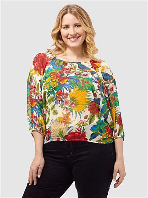 Blouse Tropical Set tropical print blouses smart casual blouse