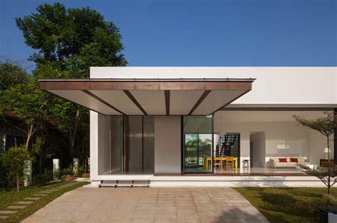 modern two storey house with streamline roof แบบบ านช นเด ยว จ ดสวนเซน ม พ นท ดาดฟ า 171 บ านไอเด ย