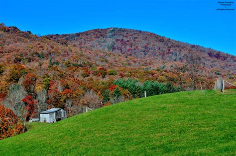 Pine Knob Kentucky by The High Knob Landform Along Pine Mountain Post