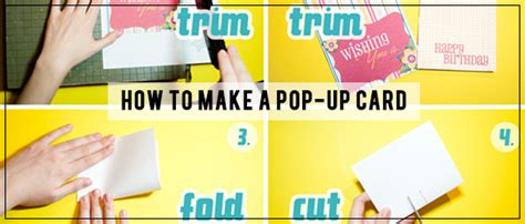 how to make your own pop up card how to make a pop up card scrapgirls