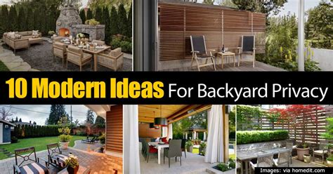 backyard landscaping ideas for privacy 10 modern ideas for backyard privacy