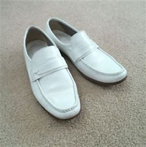 cousin eddie white loafers cousin eddie s white shoes loafer size 9 5