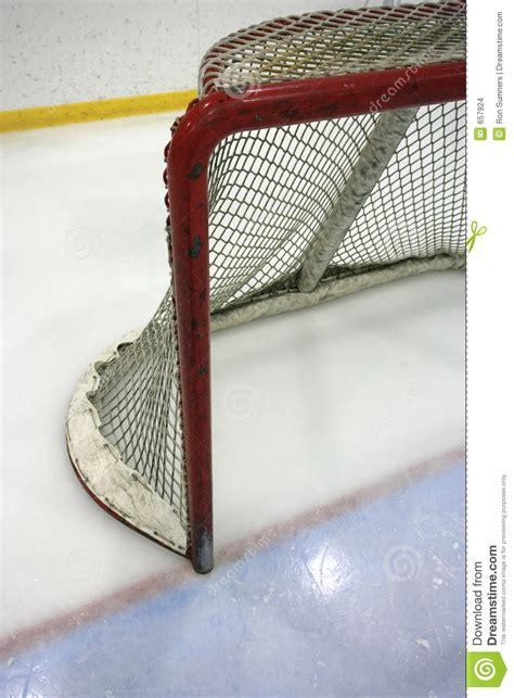 hockey net stock photo image  score crease save