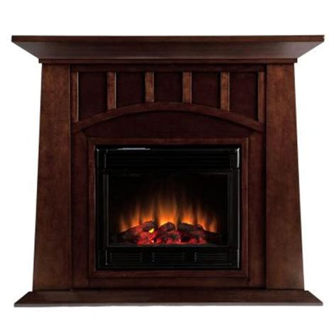 southern enterprises lowery 48 in electric fireplace in