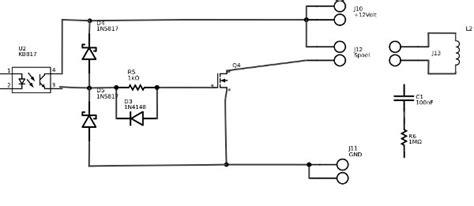 konsep freewheeling diode dan rc snubber kb817 opto universeel digitale analoog gebruik forum circuits