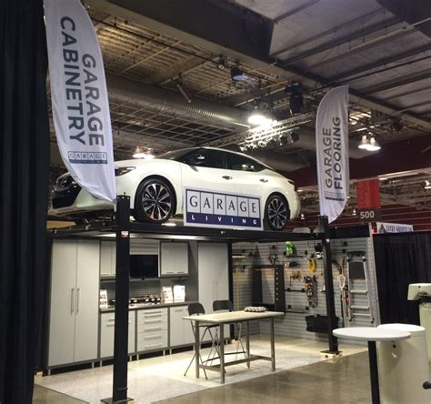 living in a garage come see garage living at the calgary home design show