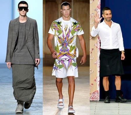stories of men wearing skirts the hottest trend out of men s fashion week in europe